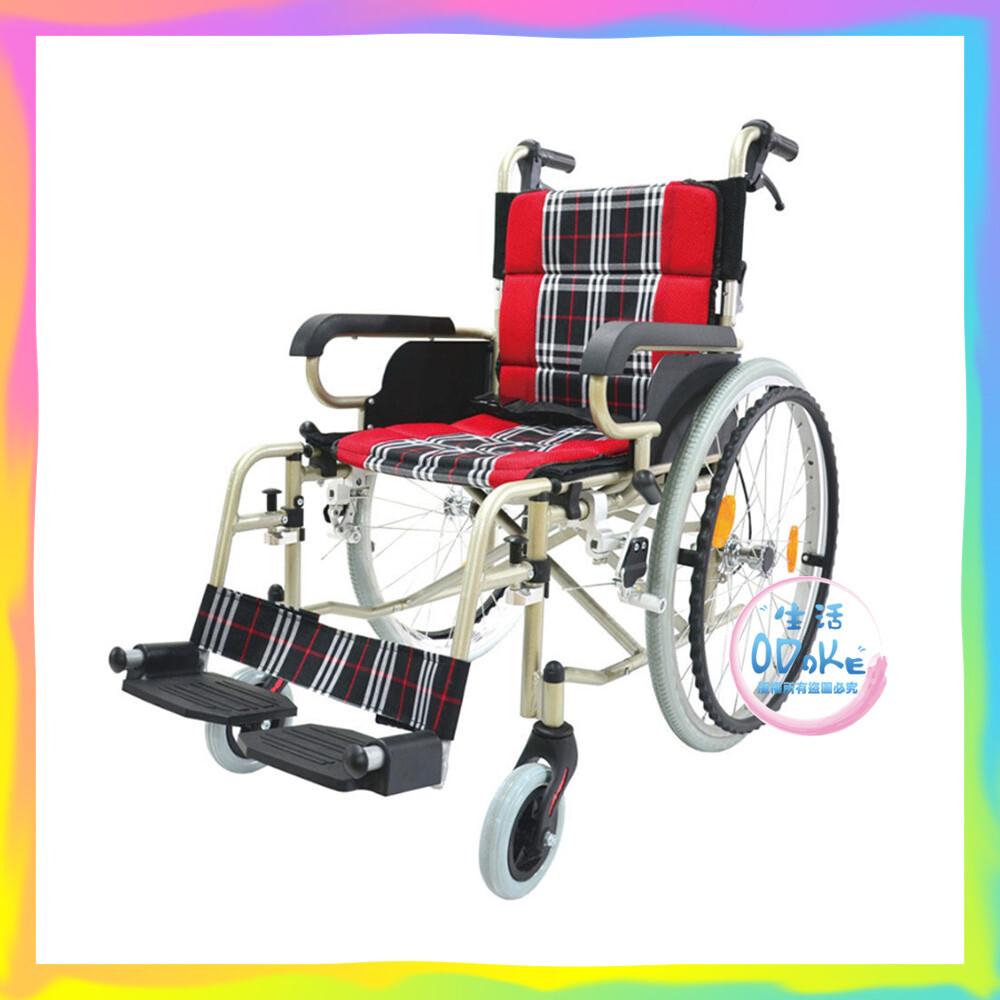 必翔銀髮 輕便看護輪椅 ph-164 (未滅菌) 輪椅 生活odoke