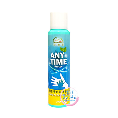 HAPPY HOUSE  茶樹精油乾洗手噴霧 75%酒精 200ml【生活ODOKE】 (2.9折)
