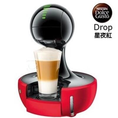 【雀巢 Nestle】Dolce Gusto 膠囊咖啡機咖啡機 Drop 星夜紅 (2.6折)