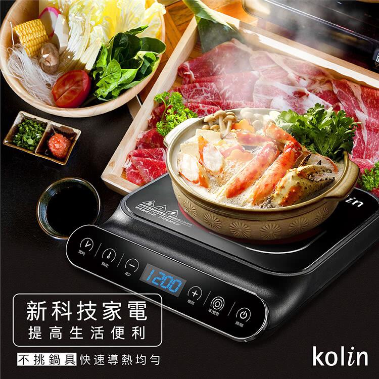 kolin歌林觸控式黑晶電陶爐(kcs-mn1218)