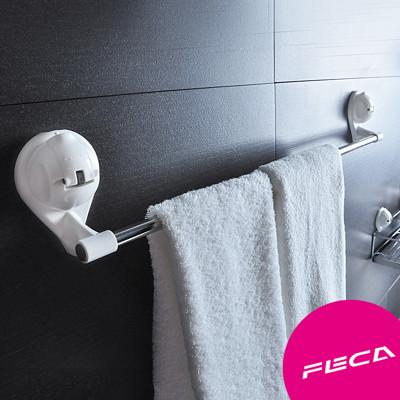 FECA非卡 無痕強力吸盤 武士多功能毛巾架(白) (9折)
