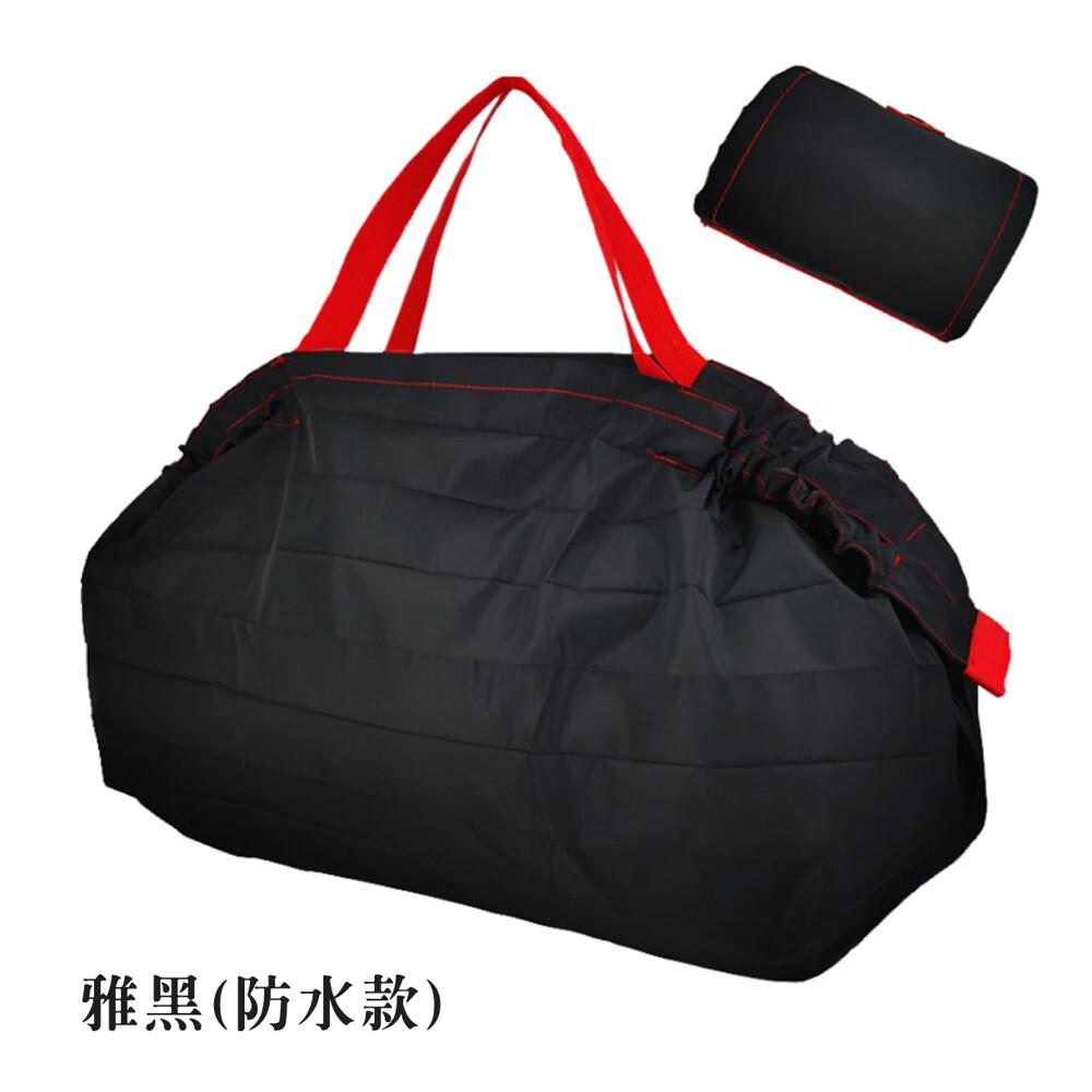 超大日本設計款折疊購物袋 環保收納袋 超市購物袋收納 捲筒收納 外出提袋 搬家/整理/採買/收納袋