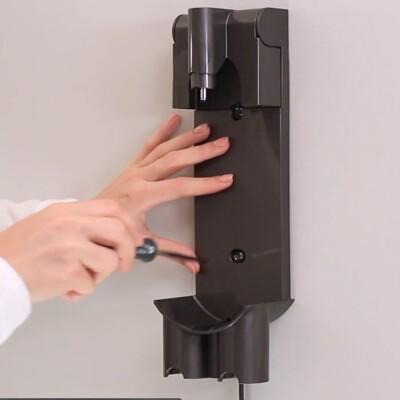 dyson戴森吸塵器dyson v7專用配件掛壁座充電底座 V7收納支架充電座 (9.3折)