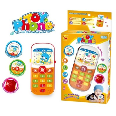 奇趣音樂手機 按鍵玩具 音樂 燈光 寶寶玩具 嬰兒玩具 卡通 【CF115691】