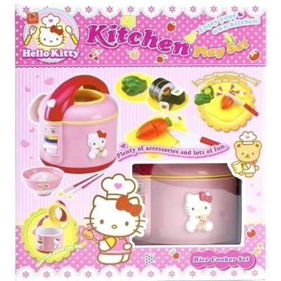 正版授權 日本玩具 Hello Kitty KT 炊飯組玩具 電鍋扮家家酒 禮物【0531402】 (6.6折)