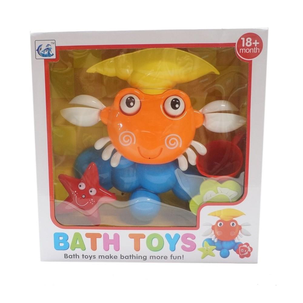 螃蟹浴室組 洗澡玩具 洗澡 吐泡泡 戲水玩具 戲水吹泡泡 泡泡製造機cf128184