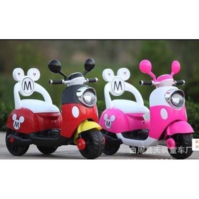 米奇米妮 電動機車 電動車 電動三輪車 摩托車 台灣製 電池 小電瓶 零件 【52668-4】 (5.8折)