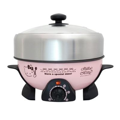 正版授權 Hello Kitty KT OT-520-1 KT電火鍋 電鍋【37E5-162201】 (7.9折)