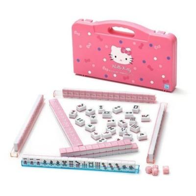 三麗鷗 正版授權 Kitty 迷你麻將旅行組 旅遊麻將 攜帶方便 附提盒【3035482】 (6折)