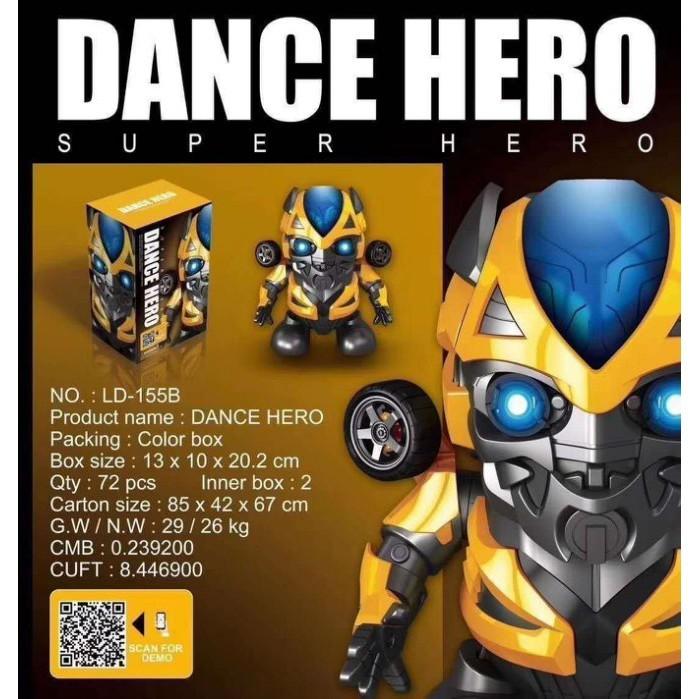 變形金鋼 大黃蜂 蜘蛛人 鋼鐵人 跳舞機器人 有音樂 會跳舞 唱歌會發光 cf146223