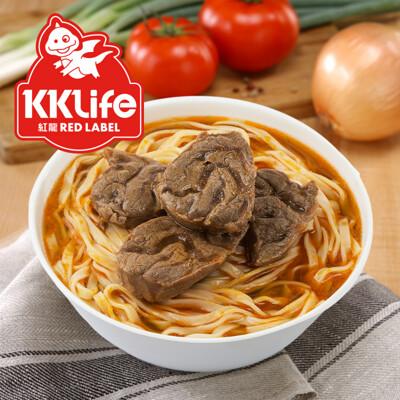 【KKLife-紅龍】紅燒腱心牛肉麵(2入/盒) (2.6折)