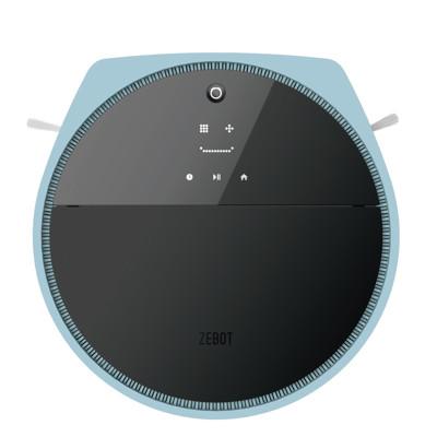 獨家送半年耗材+吸塵器 ZEBOT 智小兔 掃地機器人 負離子純吸版 自在天藍 Tubbot V (4.9折)