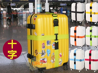 《SD0191》熱銷~ 加厚版十字 行李箱束帶 (4.3折)