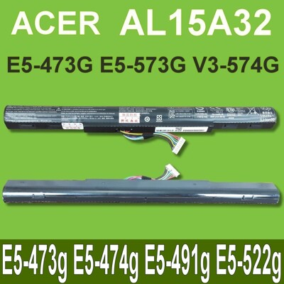 ACER AL15A32 原廠 E5-473g E5-474g E5-491g E5-473G-38 (8.9折)