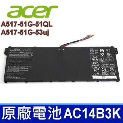 ACER AC14B3K 原廠電池 A517-51G-51QL A517-51G-53uj (9.4折)