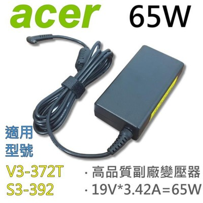 ACER 65W 細針 變壓器 P236-M V3-331 V3-371g V3-372 V3-37 (9.4折)