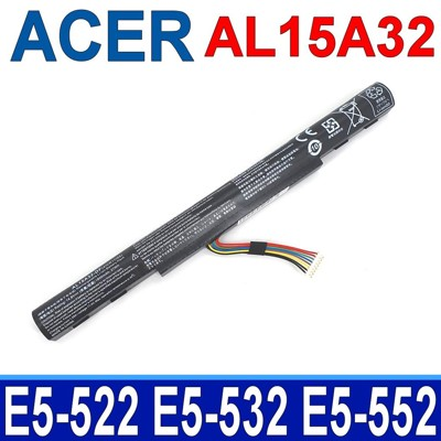 宏碁 AL15A32 4芯 高品質 電池 E5-573 E5-574 E5-722 E5-773 (8.8折)