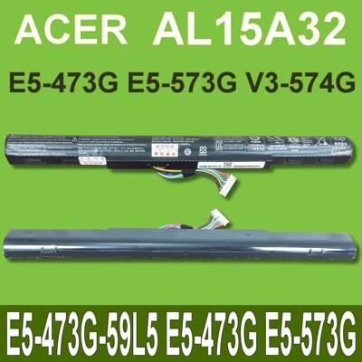 宏碁 AL15A32 原廠電池 E5-473G-59L5 E5-473G E5-573G (9.2折)