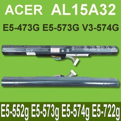 ACER AL15A32 原廠電池 E5-552g E5-573g E5-574g 商品提供一年保固 (10折)