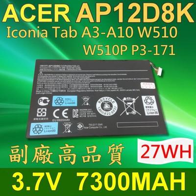 ACER 宏碁 AP12D8K 日系電芯 電池 Lconia Tab A3-A10 W510 W51 (9.2折)