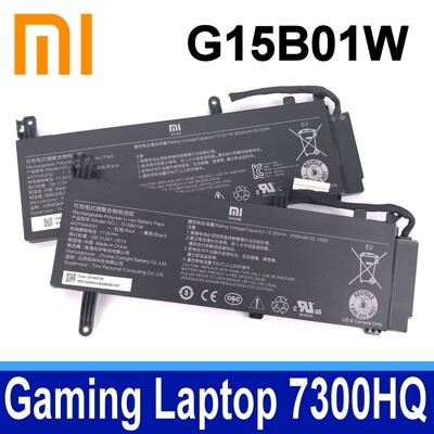 小米G15B01W 原廠電池Gaming Laptop 7300HQ 1060 GTX1060 I7 (8.5折)