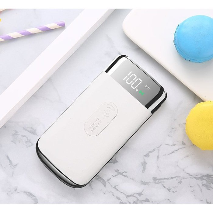 公司貨 天使白 power bank 20000mah 手機 apple samsung無線充電寶