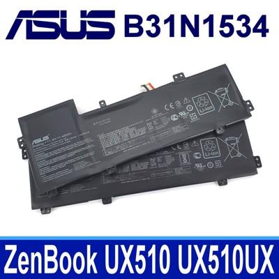 保三 ASUS B31N1534 原廠電池 UX510UW-CN044T UX510UW UX510 (10折)