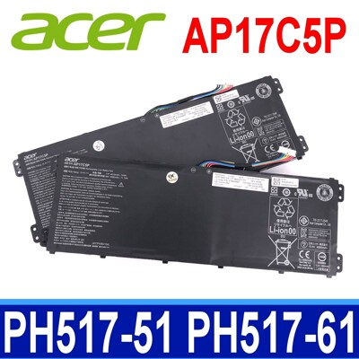 Acer AP17C5P 原廠電池 Predator Helios 500 PH517-51 (8.4折)