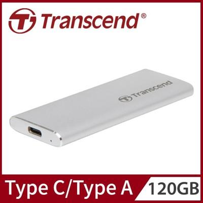 Transcend 創見 120GB ESD240C SSD USB3.1/Type C 雙介面行動 (9.2折)