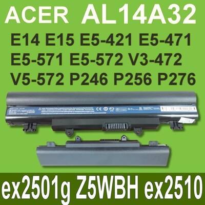 ACER AL14A32 原廠電池 ex2501g Z5WBH ex2510 ex2509 (9.3折)