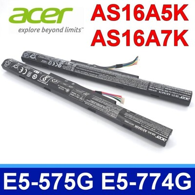 ACER AS16A5K AS16A8K 原廠電池 E5-476 E5-475 E5-774G (9.3折)