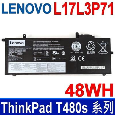 LENOVO L17L3P71 6芯 原廠電池 SB10K97617 01AV470 T480S 系 (9.2折)