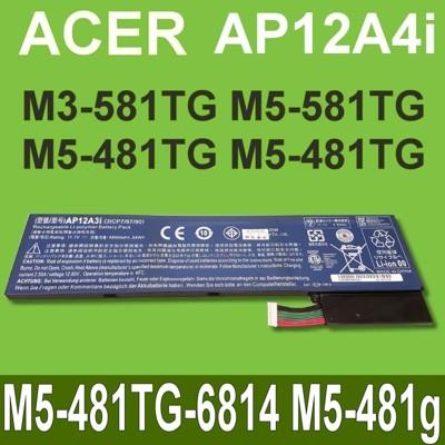 acer ap12a4i 原廠電池aspire m5-481tg-6814 m5-481g m (9.4折)