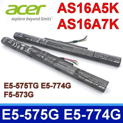 ACER AS16A5K AS16A8K 原廠電池 E5-575TG E5-774G (9.3折)