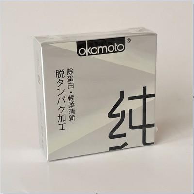 岡本City Love城市激情保險套(清純型3入)5/10盒組特惠 (3.4折)