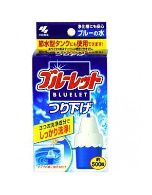 日本 小林製藥 固體潔廁劑,為您防止馬桶惡臭,使用次數可高達500次,經濟實惠。 (0.5折)