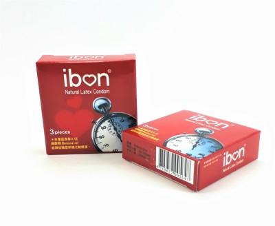 IBON 愛棒保險套(3入)含4.5%麻醉劑 久久唷! (0.4折)