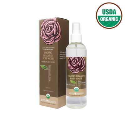 【保加奧圖】保加利亞進口 USDA有機認證 靚玫瑰花水250ml(噴瓶) (8折)