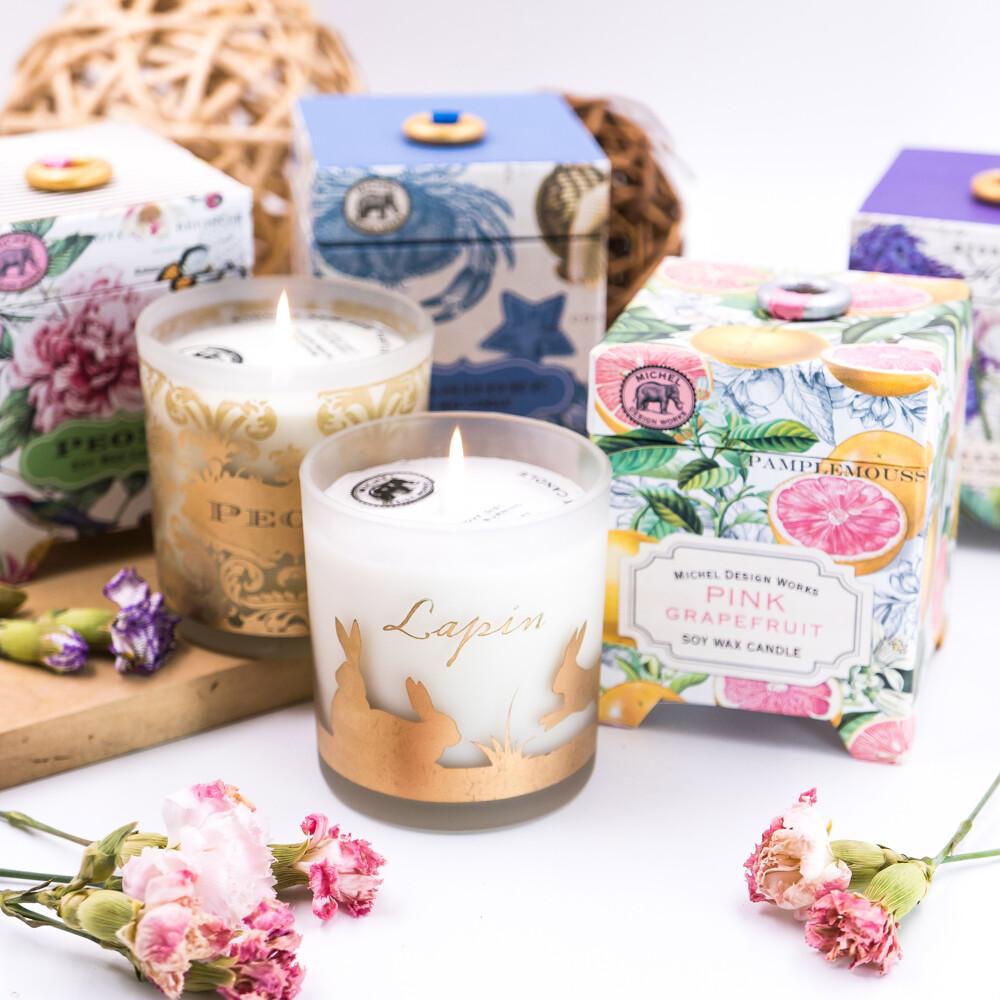 michel英國進口 7種香味 香氛大豆蠟燭(397g)