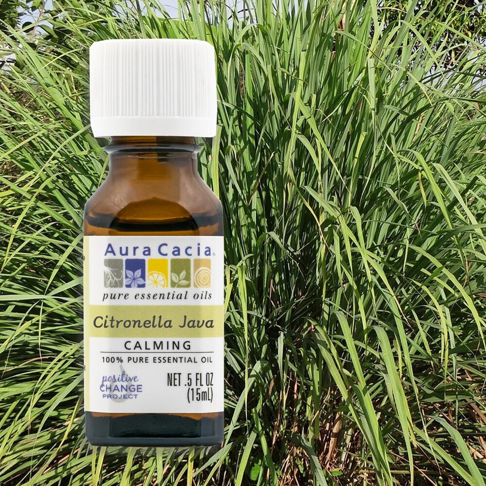 aura cacia美國原裝進口 100%純淨天然 香茅原萃精油 (15ml)