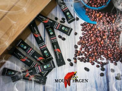 【Mount Hagen】德國原裝進口 USDA有機認證 有機即溶咖啡粉(250包/箱) (6.7折)