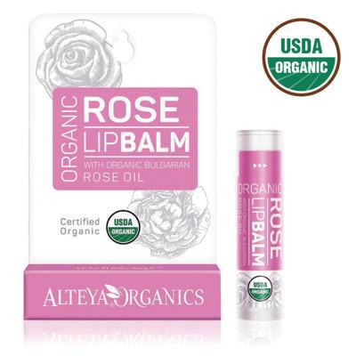 【保加奧圖】保加利亞進口 USDA有機認證 靚玫瑰護唇膏 (6.9折)