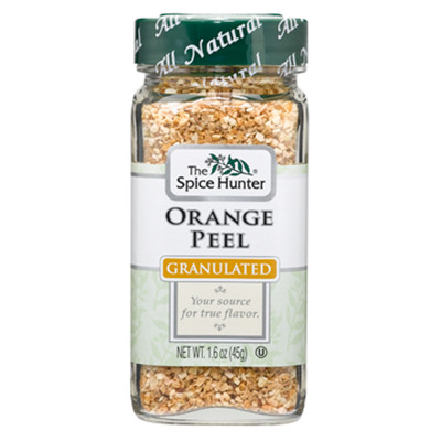【Spice Hunter 香料獵人】美國原裝進口 100%天然 橘子皮(45g) (8折)