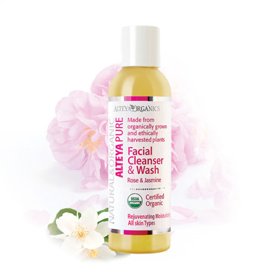 【Alteya Organics 保加奧圖】保加利亞進口 USDA認證 玫瑰茉莉潔面乳(150mL) (7折)