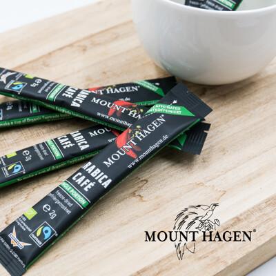 【Mount Hagen】德國原裝進口 歐盟有機認證 有機低咖啡因即溶咖啡粉(2g/包) (7折)