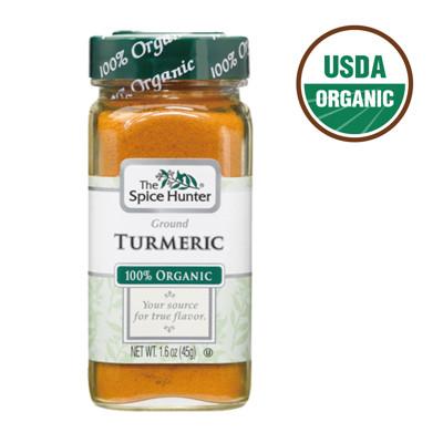 【即期品】Spice Hunter 美國進口 USDA有機認證 有機薑黃粉多入優惠組(45g) (2.9折)