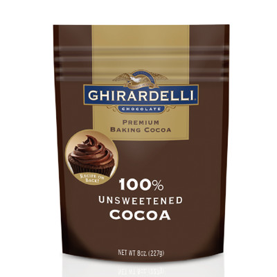 【Ghirardelli 鷹牌】美國原裝進口 高品質 無糖可可粉(227g) (8折)