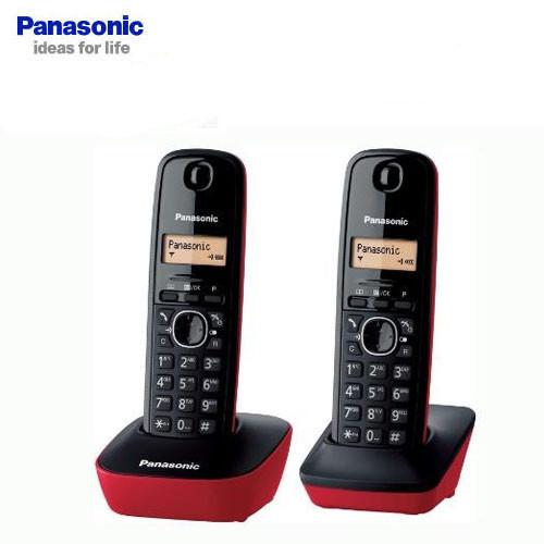 公司貨兩年保固國際牌panasonic kx-tg1612 tw 數位式雙子機無線電話