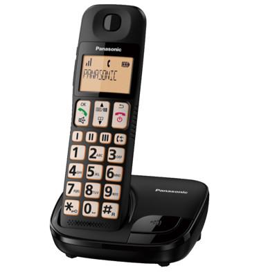 【公司貨兩年保】國際牌Panasonic KX-TGE110 TW 大字體大按鈕DECT數位無線電話 (7.6折)