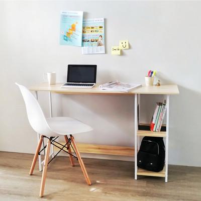 簡單生活層架工作桌/電腦桌/書桌(兩色) (3.6折)